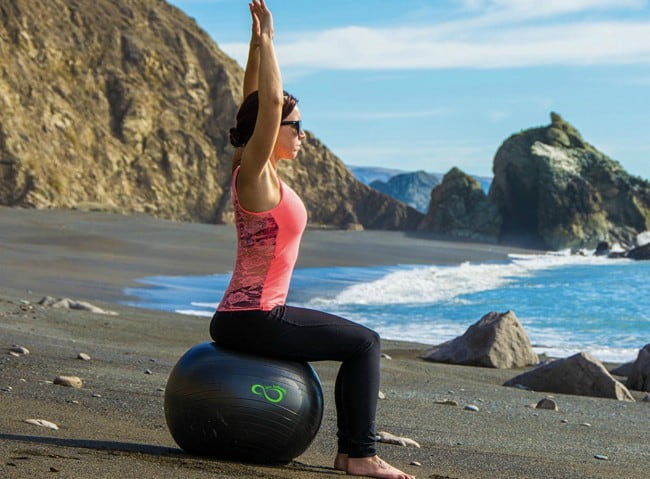 Live Infinitely Exercise Ball Workout