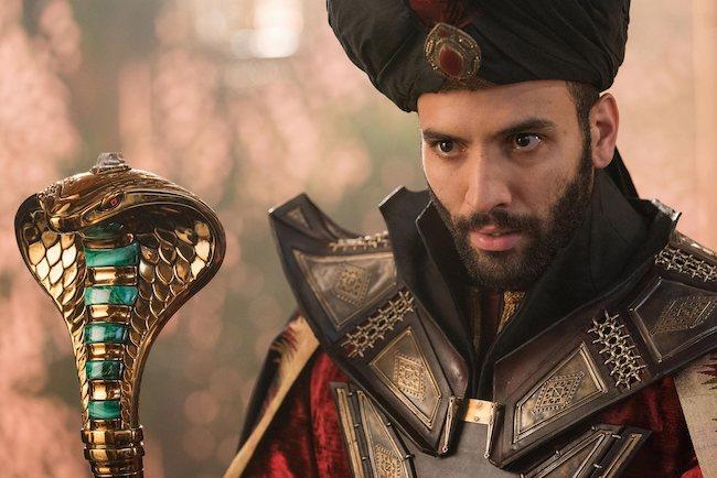 Marwan Kenzari as Jafar in Aladdin in 2019