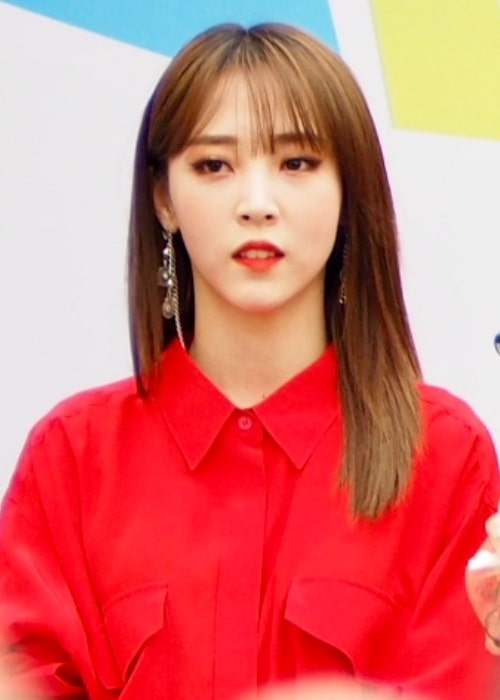 Moonbyul as seen in a picture taken during the K-Food fair in October 2018