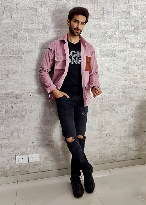 Nandish Sandhu as seen in a picture taken in July 2019