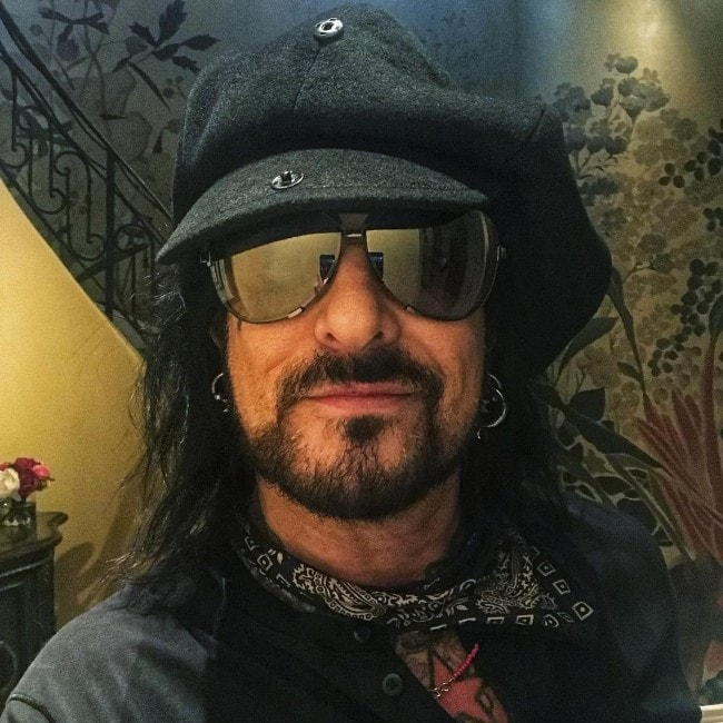Nikki Sixx as seen in February 2019