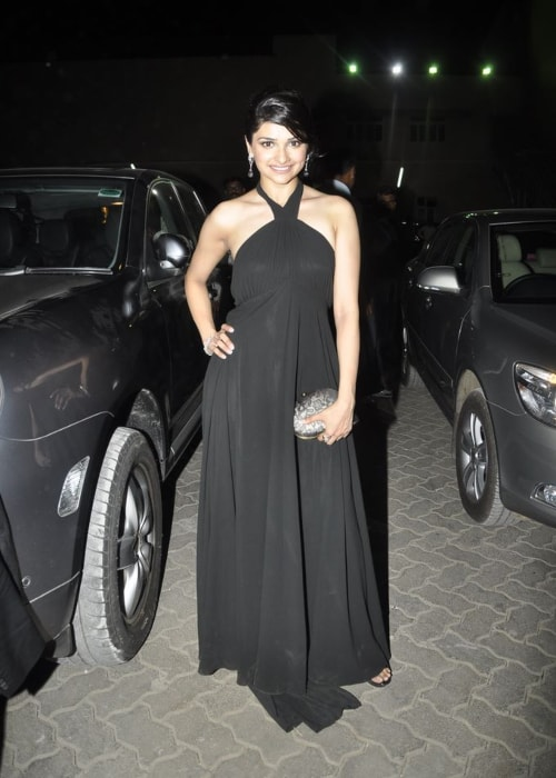 Prachi Desai as seen in a picture taken at Femina Miss India 2011 contest