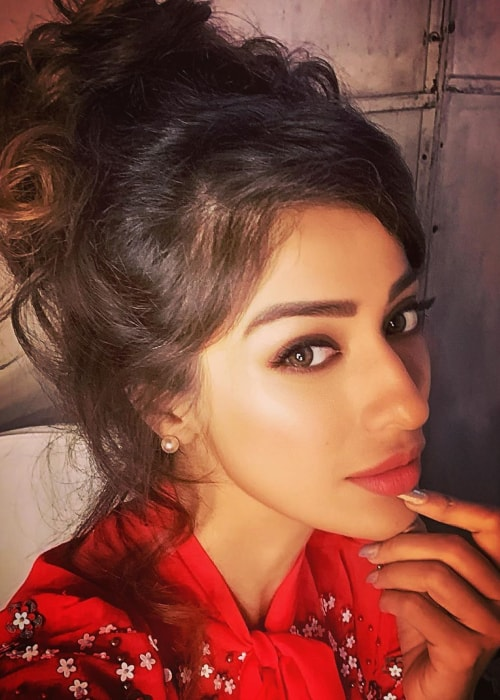 Raai Laxmi as seen in a selfie taken in June 2019
