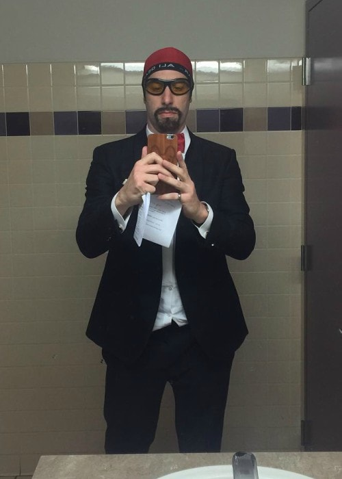 Sacha Baron Cohen in a selfie in February 2016