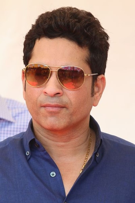 Sachin Tendulkar as seen in Mumbai in April 2016