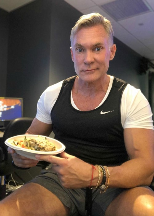 Sam Champion as seen in July 2019
