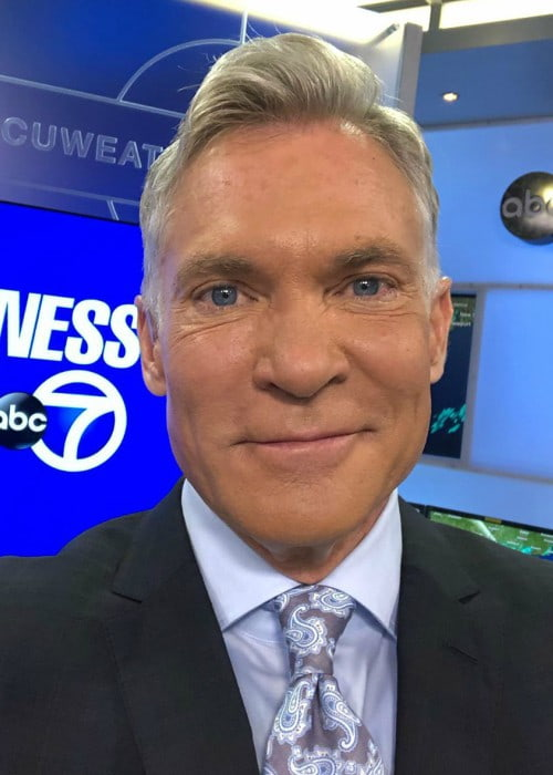Sam Champion in an Instagram selfie as seen in July 2019