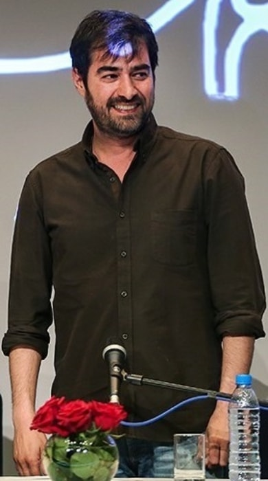 Shahab Hosseini as seen during a press conference for the drama film 'The Salesman' in Tehran, Iran in May 2016