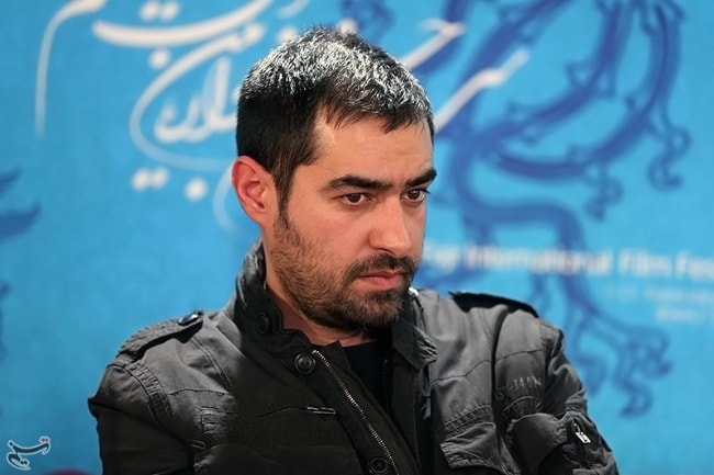 Shahab Hosseini as seen in a picture taken during the press conference for the movie 'Khane-ye Pedari' at the 32nd Fajr Film Festival in February 2014