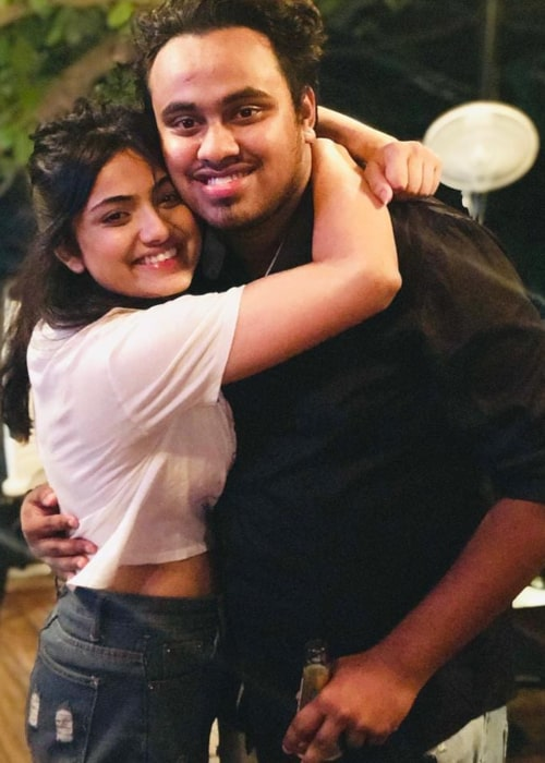 Shritama Mukherjee as seen in a picture with her beau Akash Saini in May 2019