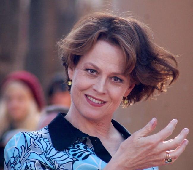 Sigourney Weaver as seen in December 2009