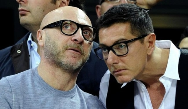 Stefano Gabbana (Right) and Domenico Dolce as seen in June 2013