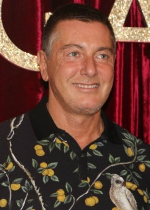 Stefano Gabbana during an event in April 2016