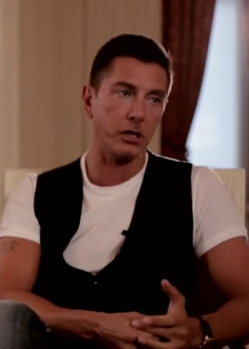 Stefano Gabbana during an interview as seen in July 2011