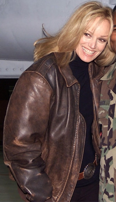 Susan Anton as seen in a picture taken in December 2001