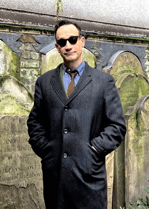 Ted Raimi as seen while posing for a picture in London, England, United Kingdom in March 2019