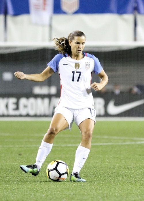 Tobin Heath as seen in September 2017
