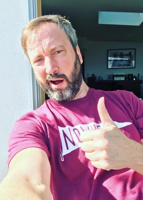 Tom Green in an Instagram selfie as seen in March 2019