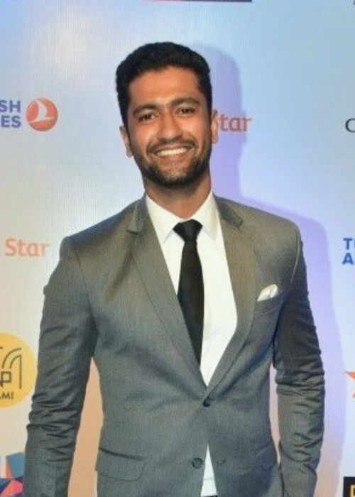 Vicky Kaushal at the MAMI Film Festival in 2017