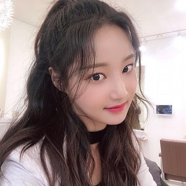 yeonwoo as seen in a picture in February 2019