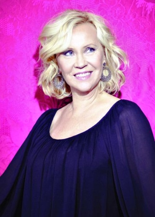 Agnetha Fältskog Press Photo as seen in July 2013