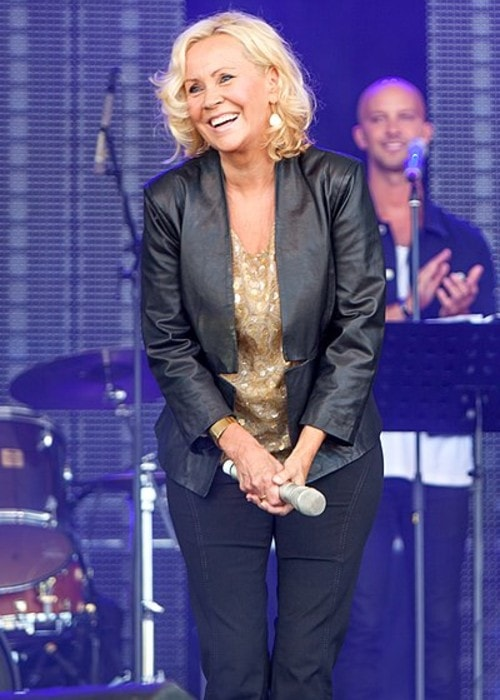 Agnetha Fältskog as seen in August 2013