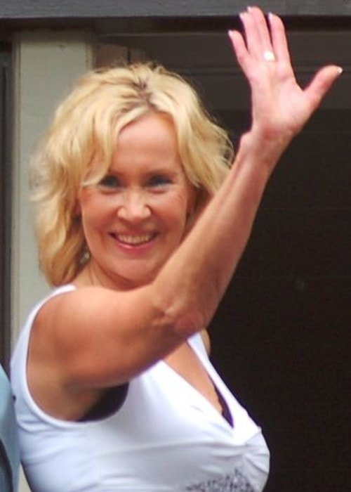 Agnetha Fältskog as seen in July 2008