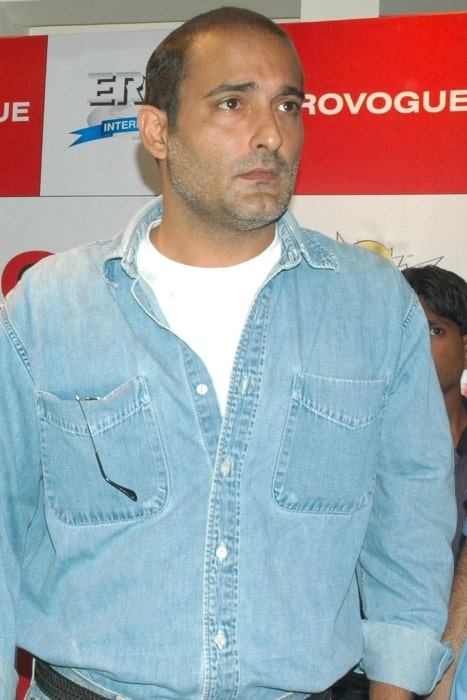 Akshaye Khanna as seen at Provogue Store in Mumbai during the promotion of his film No Problem in December 2010