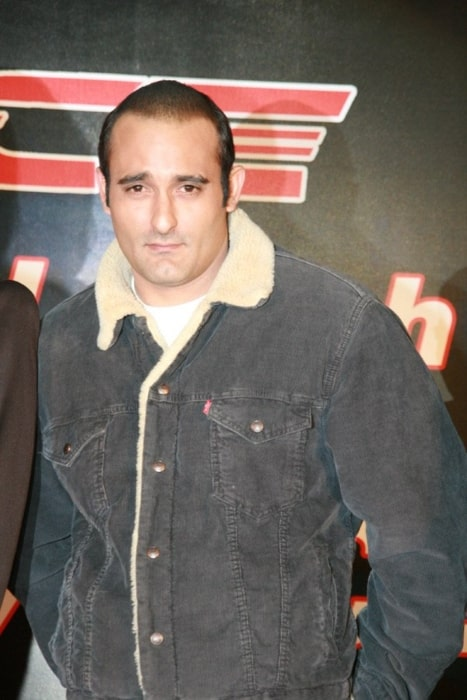 Akshaye Khanna as seen at the film Race promotional event in 2008