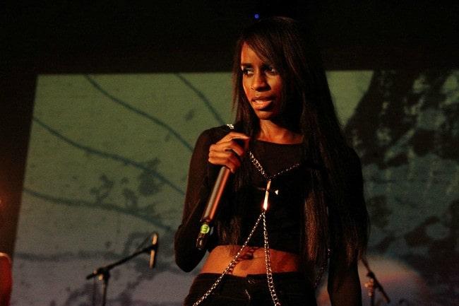 Angel Haze as seen in January 2013