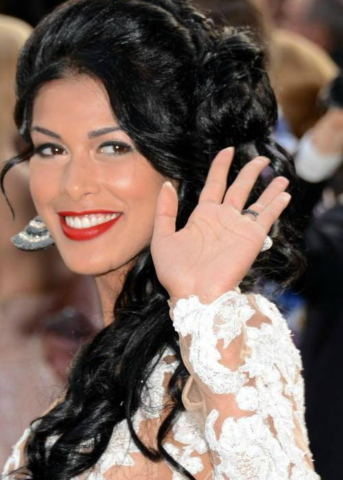 Ayem Nour at the Cannes Film Festival in May 2014