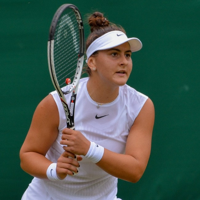 Bianca Andreescu as seen in June 2017