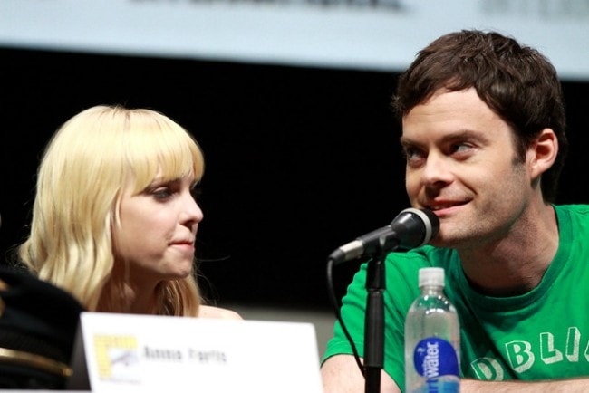 Bill Hader and Anna Faris at the 2013 San Diego Comic Con International