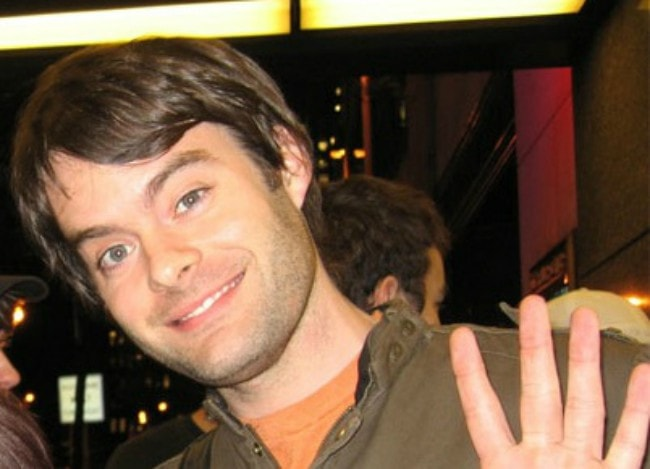 Bill Hader as seen in July 2007