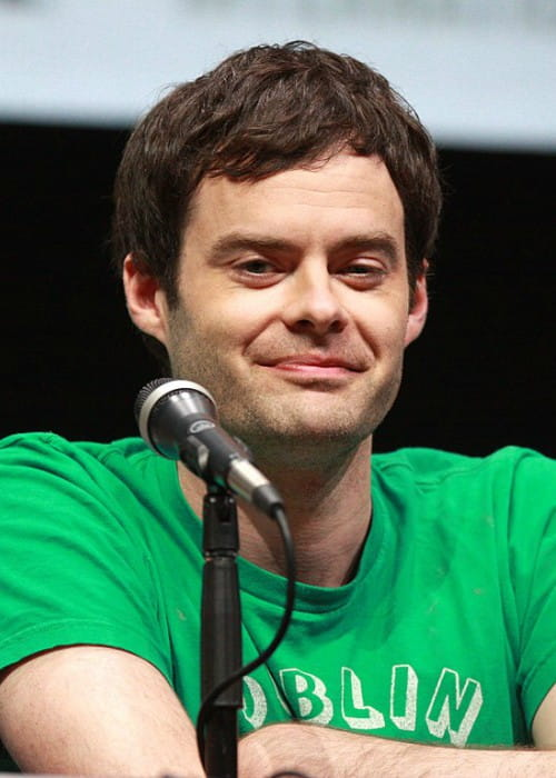 Bill Hader speaking at the 2013 San Diego Comic Con International