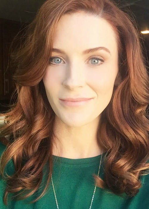 Bridget Regan in an Instagram selfie as seen in October 2017