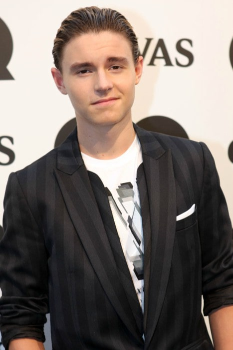 Callan McAuliffe at GQ Men Of The Year Awards in 2011