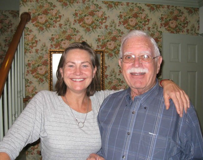 Cherry Jones and Arthur H Nellen Jr. as seen in 2007