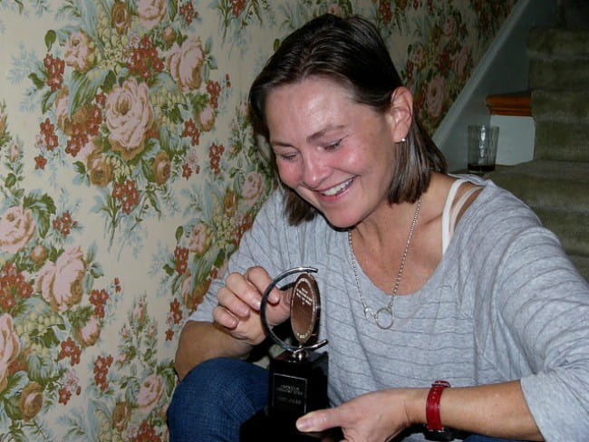 Cherry Jones as seen in November 2007