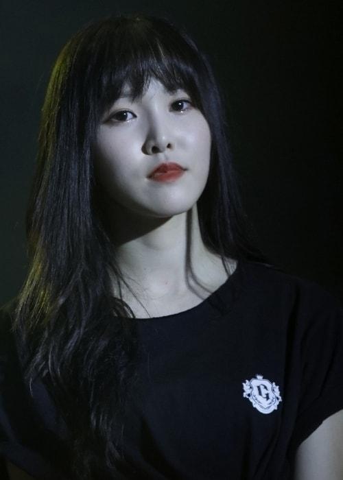 Choi Yu-na (Yuju) as seen in a picture taken in January 2018