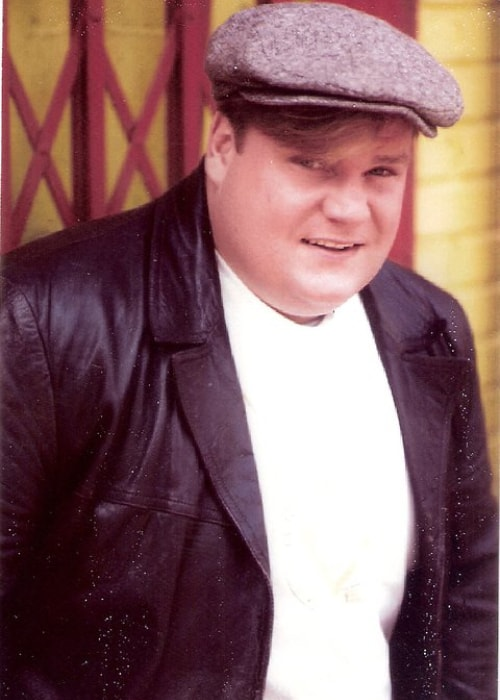 Chris Farley as seen in a picture taken in the past