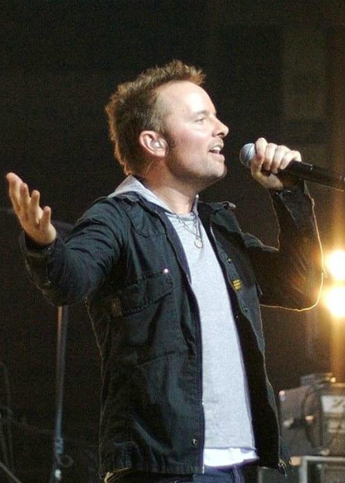 Chris Tomlin during a concert in November 2007