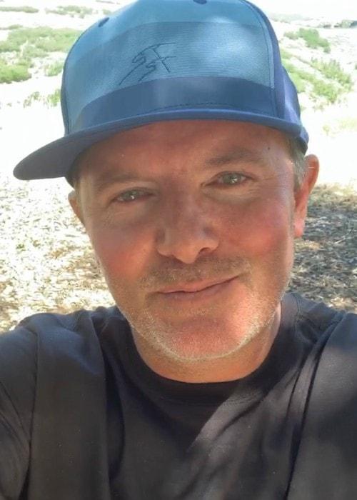 Chris Tomlin in an Instagram selfie as seen in July 2019