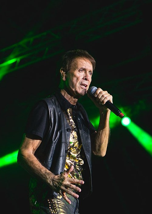 Cliff Richard as seen in July 2017