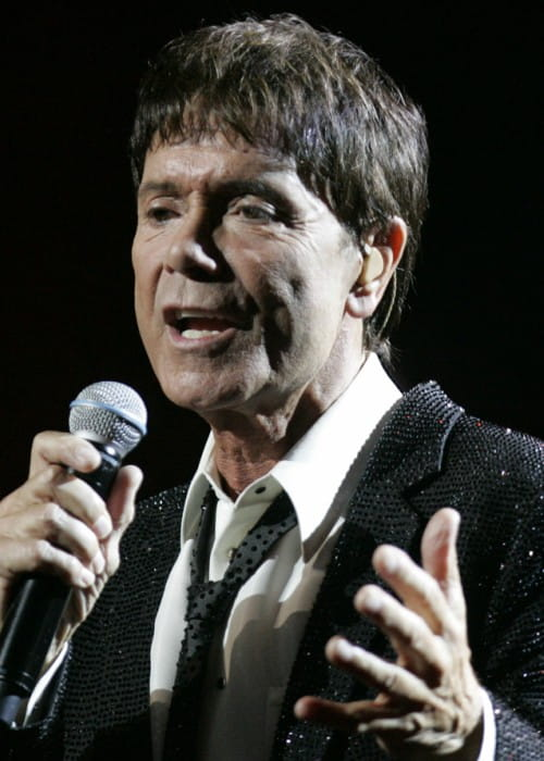 Cliff Richard during a performance at State Theatre in February 2013