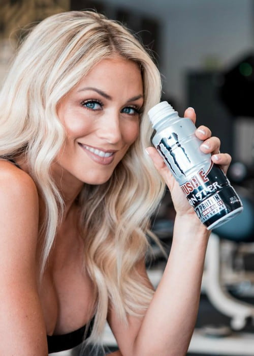 Dianna Dahlgren prmoting Muscle Monster in an Instagram post in July 2019