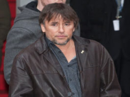 Director Richard Linklater after the press conference for Before Midnight in February 2013