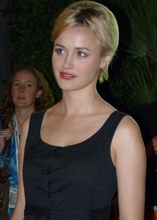 Dominique McElligott attending the Cannes Film Festival in 2011