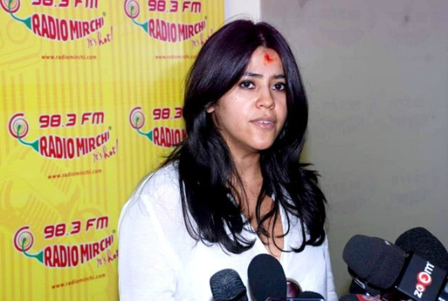 Ekta Kapoor as seen in July 2012