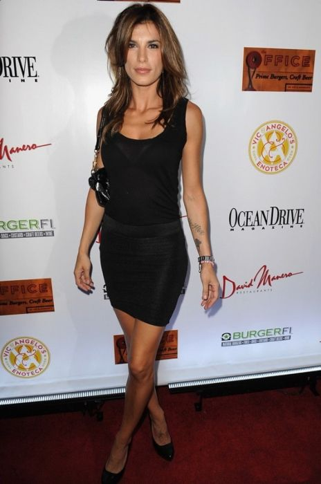 Elisabetta Canalis as seen at the opening of a restaurant in Miami in 2013